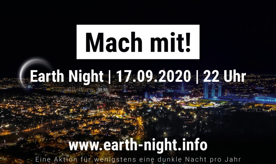 Earth Night 2020 – Save The Date